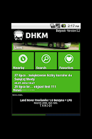 Screenshot of DHKM