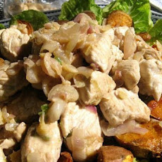 Curried Turkey Salad with Cashews