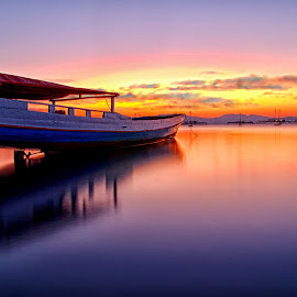 Stopy Boat by Bagus Santoso - Landscapes Sunsets & Sunrises (  )