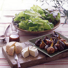 Organic Lettuces with Fig Vinaigrette