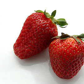 Red Strawberry by Rakesh Syal - Food & Drink Fruits & Vegetables