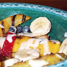 Whine & Jerk Grilled Fruit Salad