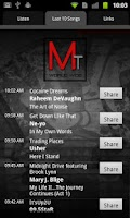 Screenshot of MAJOR TRENDZ RADIO
