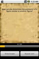 Screenshot of Math Basics Flash Cards