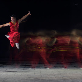 wushu athlete by Ahmad Rizal - Sports & Fitness Other Sports