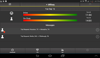 Screenshot of CDL Warrior- Trucker Tools App