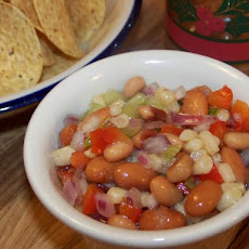 Holiday Party Bean Salsa