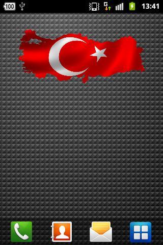 Turk Bayragi Sticker Widget