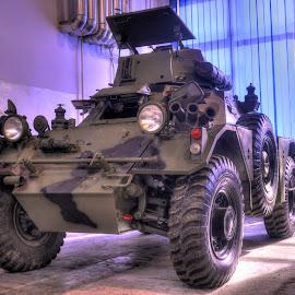 Ready for journey by Zeljko Kliska - Transportation Other ( hdr, transportation, tank )