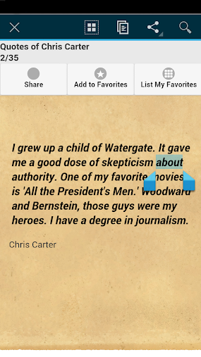Quotes of Chris Carter APK