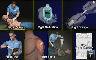 Screenshot of Medrills: Administer Medicine