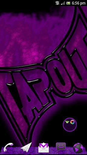 Go Launcher MMA Extreme Purple