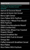 Screenshot of Gluten Free NZ