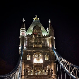 by Jose Figueiredo - Buildings & Architecture Bridges & Suspended Structures ( london, tower bridge, nigth )
