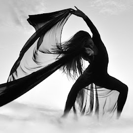 WIND by Zoran Pislevic - People Musicians & Entertainers ( woman, performance, performer, beauty, dance, dancer )