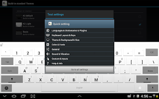 Screenshot of Kii Keyboard