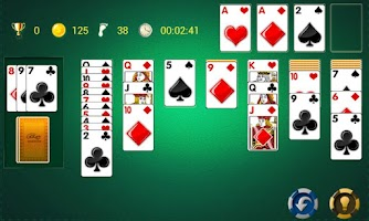 Screenshot of AE Solitaire
