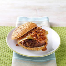 Sweet Onion BBQ Burgers Recipe