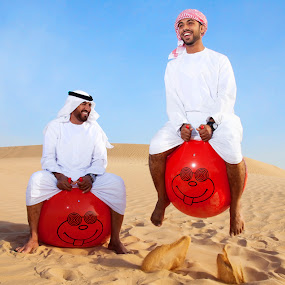 by Simon Charlton - People Portraits of Men ( desert, dubai, simon charlton, dubai photographer )