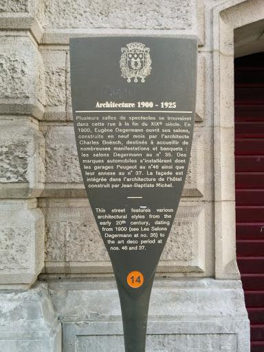 Architecture 1900-1924
