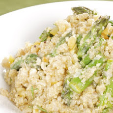 Quinoa with Asparagus and Preserved Lemon Dressing
