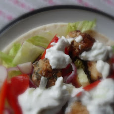 A little Taste of Greece, Souvlaki in a Pita