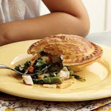 Chicken and Spring Vegetable Potpies