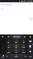 Screenshot of Lithuanian for GO Keyboard