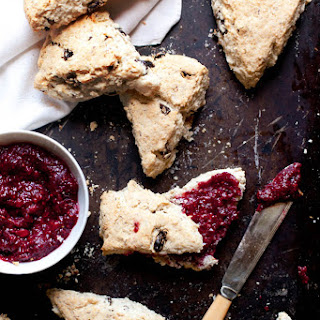 Gluten Free Irish Soda Bread Scones