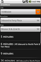 Screenshot of DroidMuni