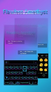 Download FlawlessAmethyst EmojiTheme APK for Android Kitkat