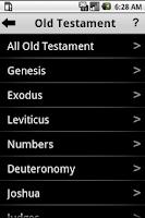 Screenshot of Daily Bible Plan Pro