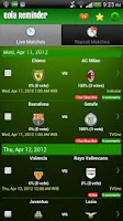 Screenshot of Bola Reminder - Indonesia