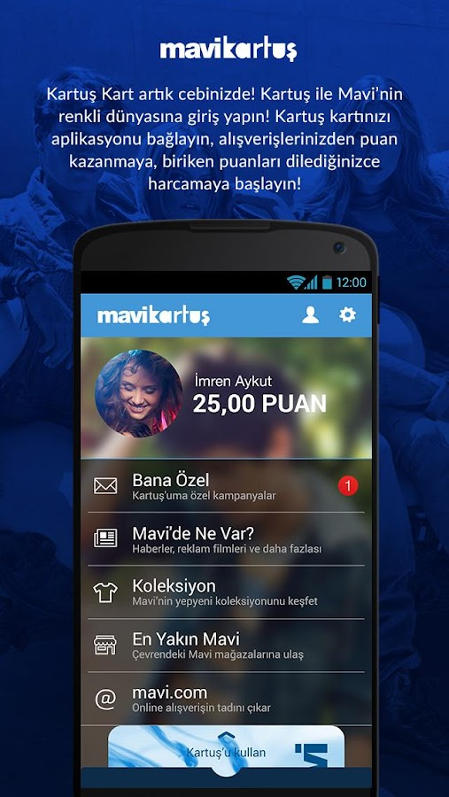 Mavi Kartuş Screenshot