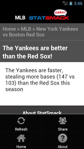 【免費運動App】Baseball Statsmack (StatSheet)-APP點子