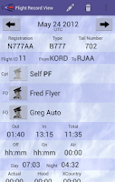 Screenshot of Cirrus Pilot LogBook