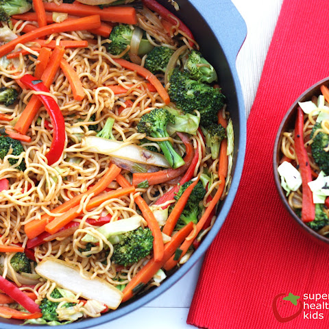 One Pot Veggie Yakisoba