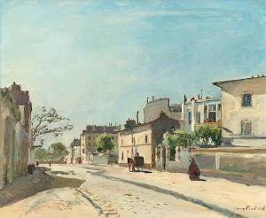 RIJKS: Johan Barthold Jongkind: Rue Nôtre-Dame, Paris 1866