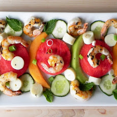 Grilled Shrimp and Melon Salad