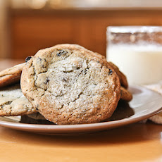 Blueberry and White Chocolate Chip Jumbo Cookie