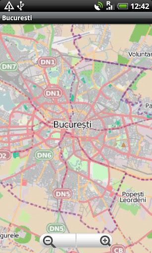 Bucuresti Street Map