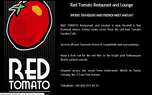 Red Tomato Restaurant Langkawi