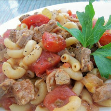 Beef and Macaroni Bake