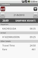 Screenshot of TravelIndia