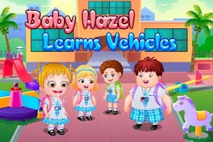 Screenshot of Baby Hazel Learns Vehicles