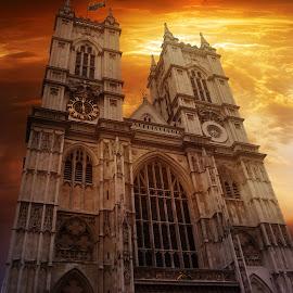 Westminster Abbey London. by Michael Dalmedo - Buildings & Architecture Public & Historical