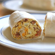 Uncle Will's Rockin' Spicy Chorizo Breakfast Wraps {Naptime Everyday}