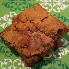 Apple Cinnamon Cookie Bars