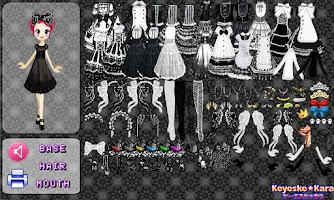Screenshot of Gothic Lolita Fashion Lite