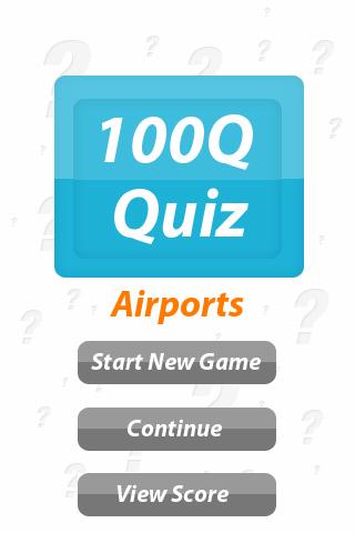Airports - 100Q Quiz